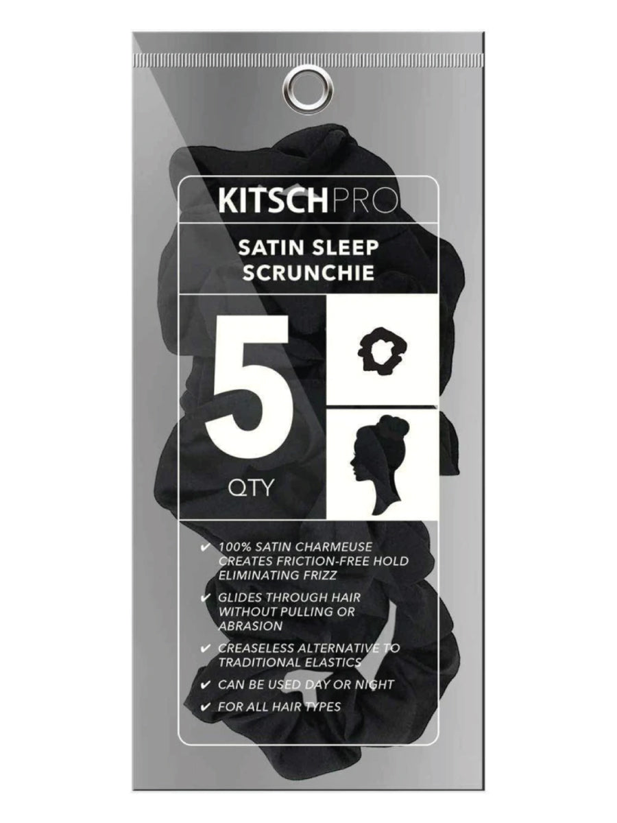 Kitsch Satin Sleep Scrunchies