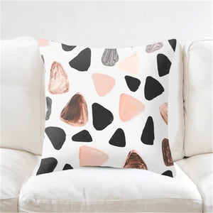 Geometric Pattern Decorative Pillow Case - Hansel & Gretel Home Decor