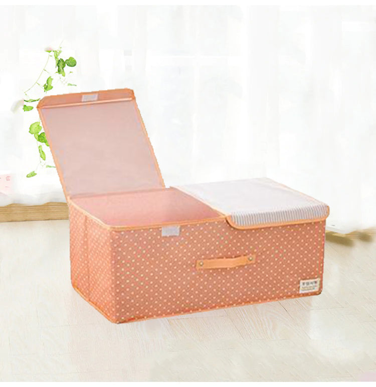 Rectangular Orange Storage Basket - Hansel & Gretel Home Decor