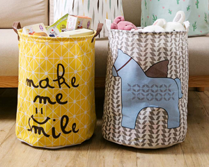 Horse Fabric Laundry Basket - Hansel & Gretel Home Decor