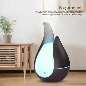 Wooden LED Humidifier & Electric Scent Distributor - Hansel & Gretel Home Decor
