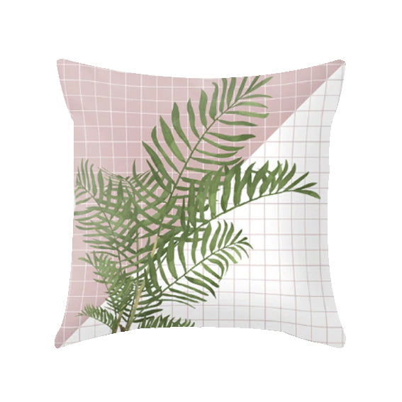 Geometric Pattern Decorative Pillow Case