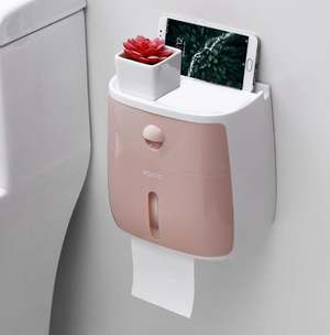 Trendy Plastic Toilet Paper Holder - Hansel & Gretel Home Decor