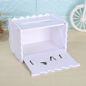 Modern Wooden Tissue Paper Holder - Hansel & Gretel Home Decor