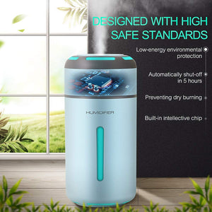 American LED Ultrasonic Humidifier & Electric Scent Distributor - Hansel & Gretel Home Decor