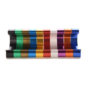 Colorful Solid Aluminum Adhesive Hooks