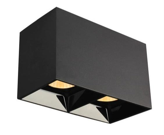 Modern Black Cube Ceiling Light - Hansel & Gretel Home Decor