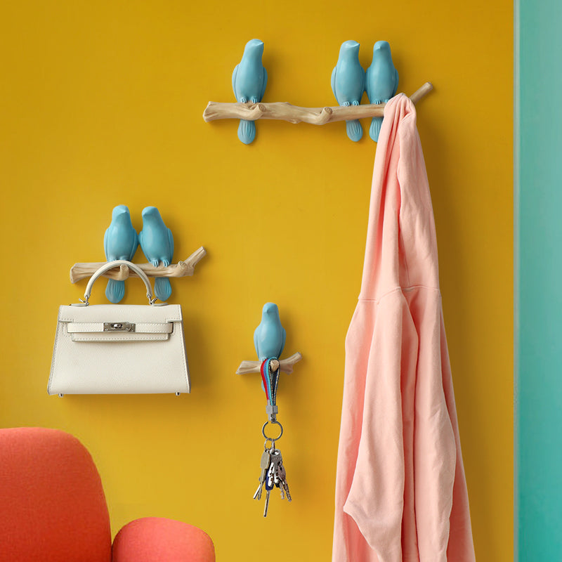 Blue Modern Wall Hook