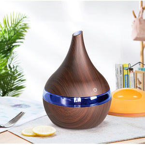 Wooden Ultrasonic Humidifier and Scent Distributor - Hansel & Gretel Home Decor