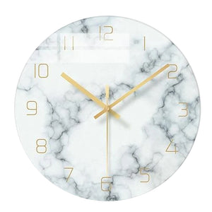 Marble Nordic Wall Clock Karen Model