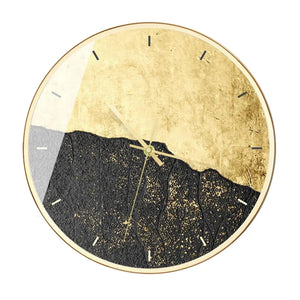 Modern Stone Imitation Wall Clock Faye Model - Hansel & Gretel Home Decor