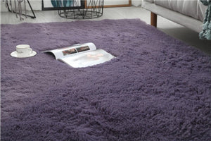 Purple Dining Area Carpet