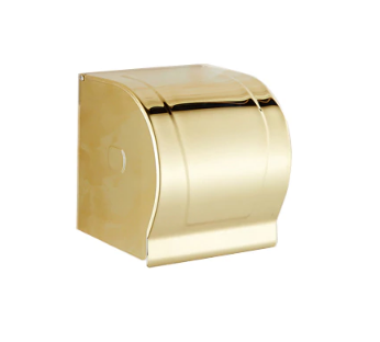 Stainless Steel Gold Toilet Paper Holder
