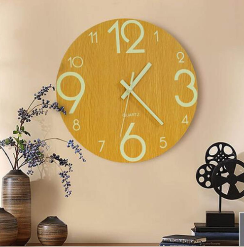 Vintage Wooden Wall Clock Taylor Model - Hansel & Gretel Home Decor