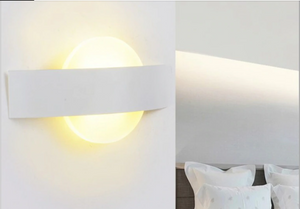 Modern Luminary White LED Wall Lamps - Hansel & Gretel Home Decor