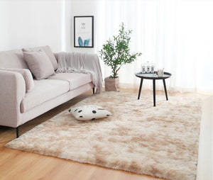 Cream Living Room Carpet