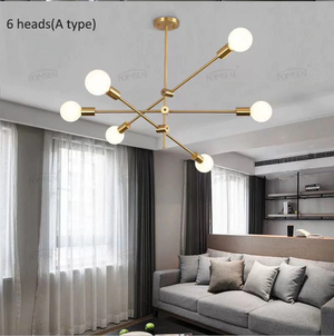 Long Pole European Style Hanging Lamp - Hansel & Gretel Home Decor