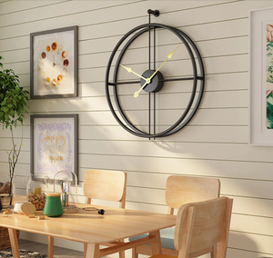 Modern Large Silent Wall Clock Alicia Model - Hansel & Gretel Home Decor