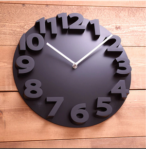 Bold and Clear Wall Clock Patricia Model - Hansel & Gretel Home Decor