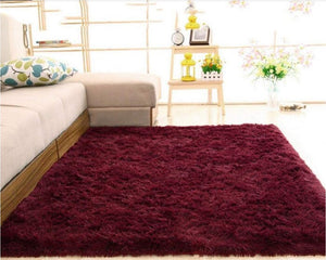 Red Dining Area Carpet
