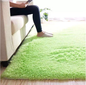 Green Living Room Carpet