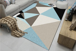 Multicolor Living Room Carpet