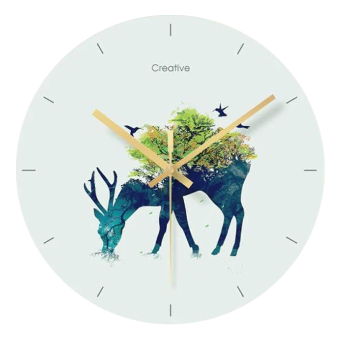 Nordic Aesthetic Wall Clock Angela Model