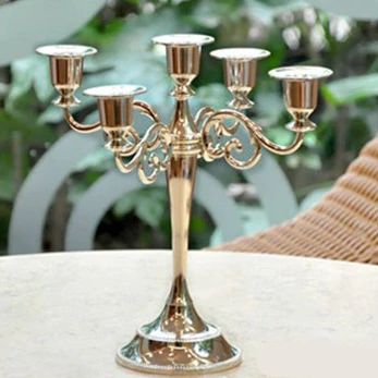 European Metal Candle Holder - Hansel & Gretel Home Decor