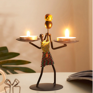 Nordic Crafts Metal Candleholder - Hansel & Gretel Home Decor