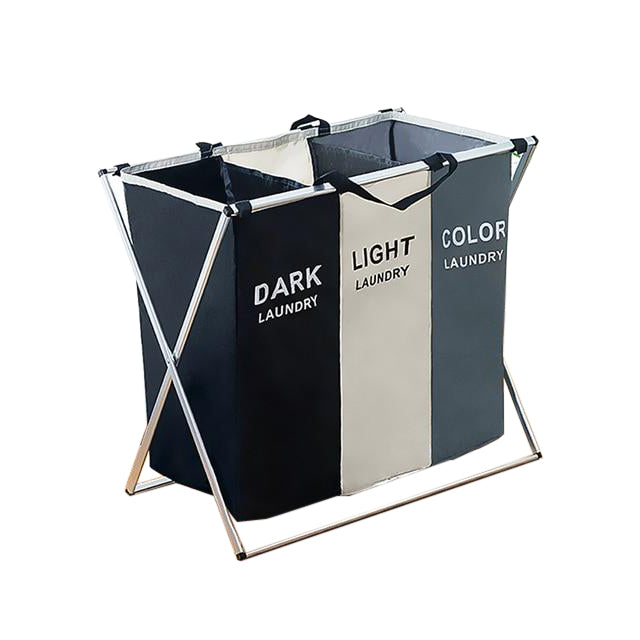 Modern Multicolored Foldable Laundry Basket