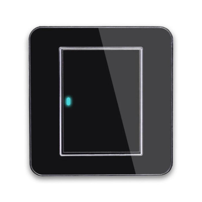 Acrylic Crystal Light Switch Panel with LED Indicator