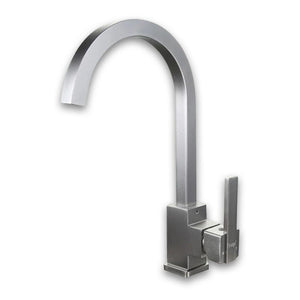 Aluminum Silver Kitchen Faucet Rotating - Hansel & Gretel Home Decor