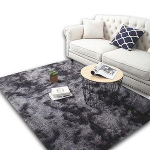 Black Living Room Carpet - Hansel & Gretel Home Decor