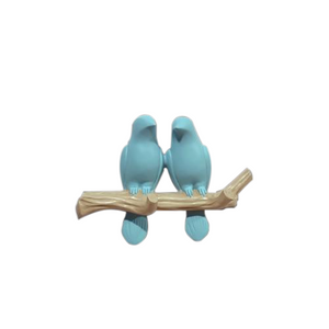 Blue Modern Wall Hook-Hansel & Gretel Home Decor