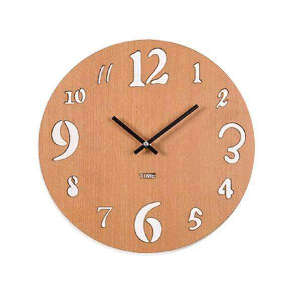 Classic Wooden Wall Clock Pamela Model