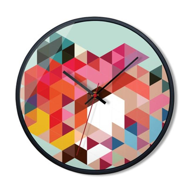 Colorful Retro Wall Clock Melissa Model