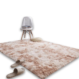 Cream Living Room Carpet - Hansel & Gretel Home Decor