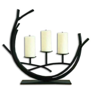 Crescent Iron Candleholder - Hansel & Gretel Home Decor