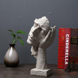 Decorative Ornamental Sculpture Creative Thinker Figurines - Hansel & Gretel Home Decor