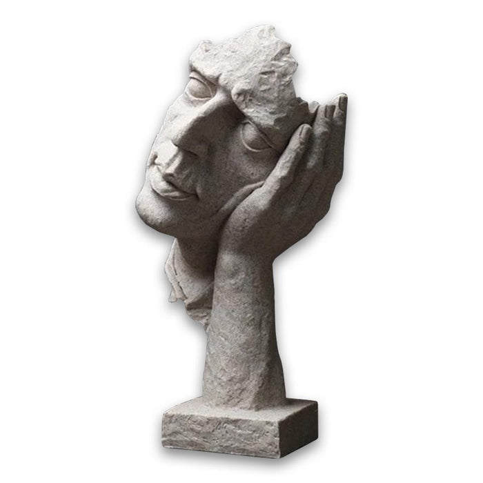 Decorative Ornamental Sculpture Creative Thinker Figurines