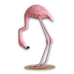 Decorative Ornamental Sculpture Flamingo Figurine - Hansel & Gretel Home Decor