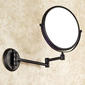 Decorative Ornamental Sculpture Magnifier Bathroom Mirror - Hansel & Gretel Home Decor