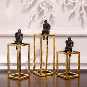 Decorative Ornamental Sculpture Large Modern Statues - Hansel & Gretel Home Decor