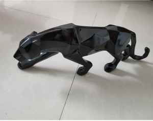 Decorative Ornamental Sculpture Panther Statue - Hansel & Gretel Home Decor