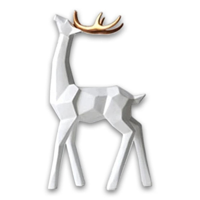 Decorative Ornamental Sculpture Reindeer Figurine