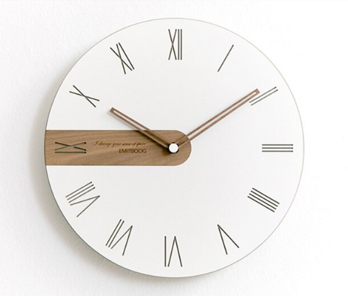 Digital Wooden Wall Clock Susan Model - Hansel & Gretel Home Decor