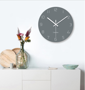 Fashionable Glass Wall Clock Dorothy Model - Hansel & Gretel Home Decor