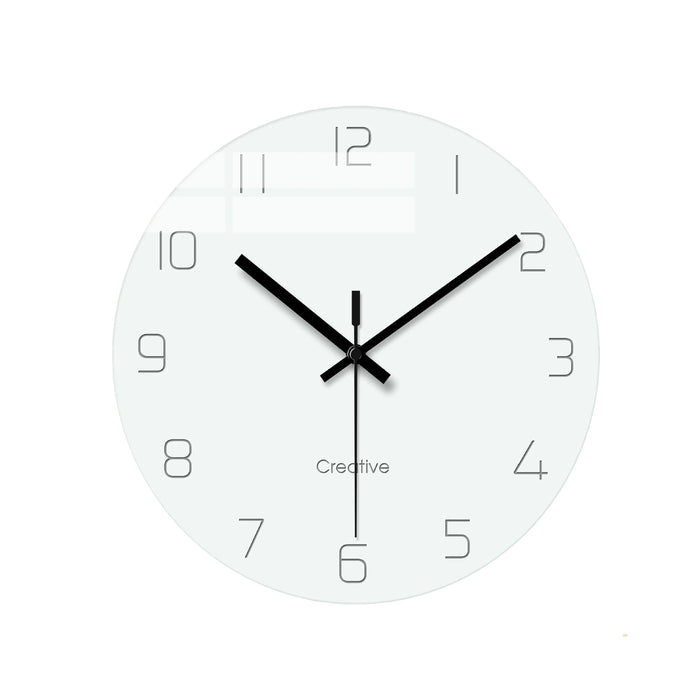Fashionable Glass Wall Clock Dorothy Model