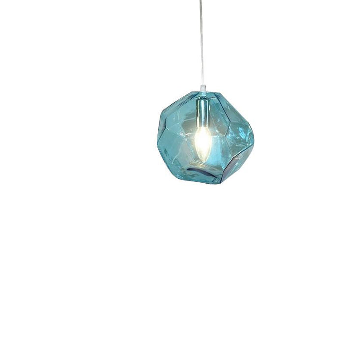 Geometric Crystal Shape Hanging Lamp