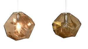 Geometric Crystal Shape Hanging Lamp-Hansel & Gretel Home Decor